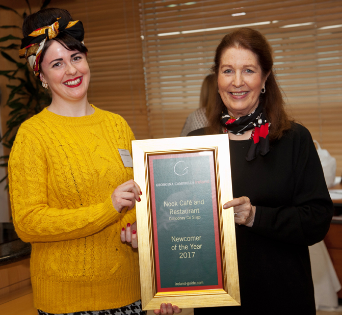 Free repro – please credit Paul SherwoodGeorgina Campbell Guide Awards 2017, held at Bord Bia, September 2017