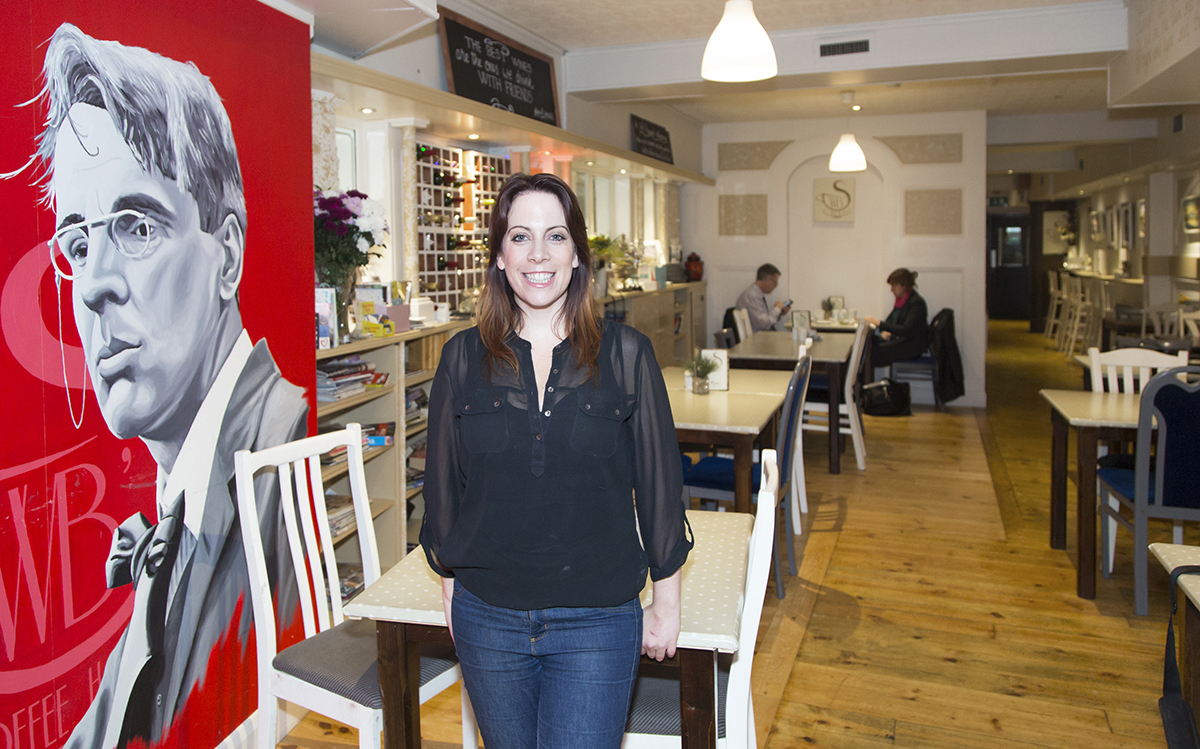 Faces of the Sligo Food Trail: Aisling Kelly, W.B.'s Coffee House