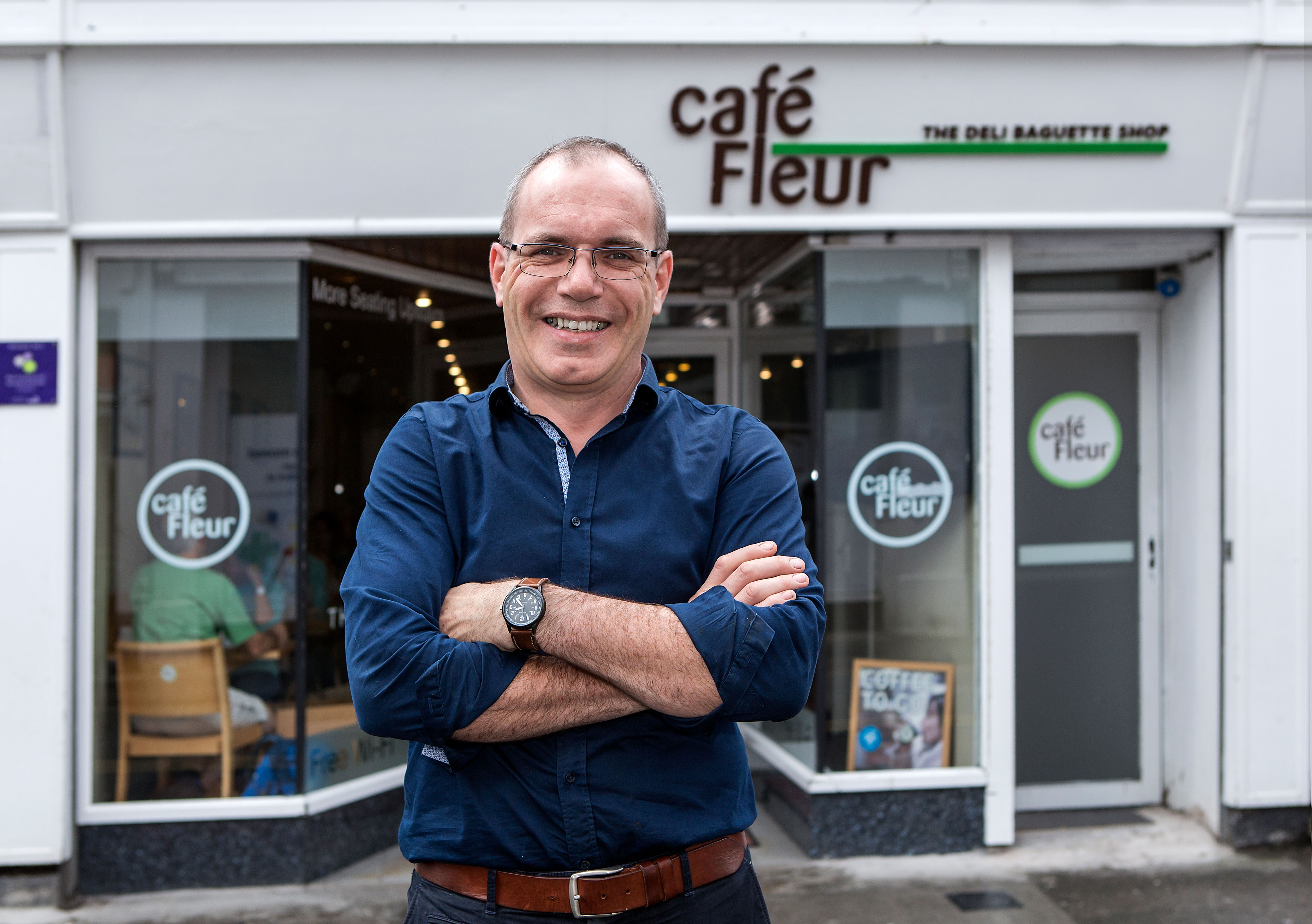 Faces of the Sligo Food Trail: Des Faul, Café Fleur