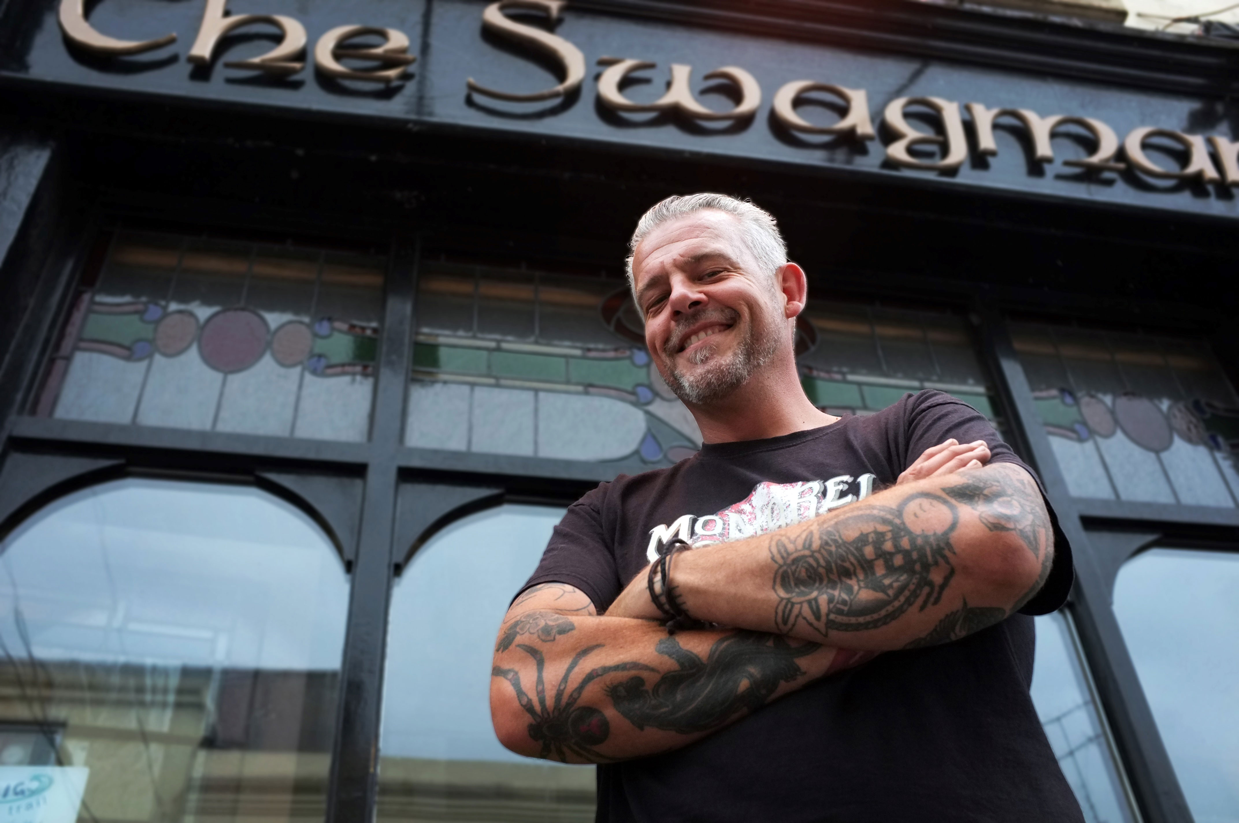 Faces of the Sligo Food Trail: Dale Barber, The Swagman