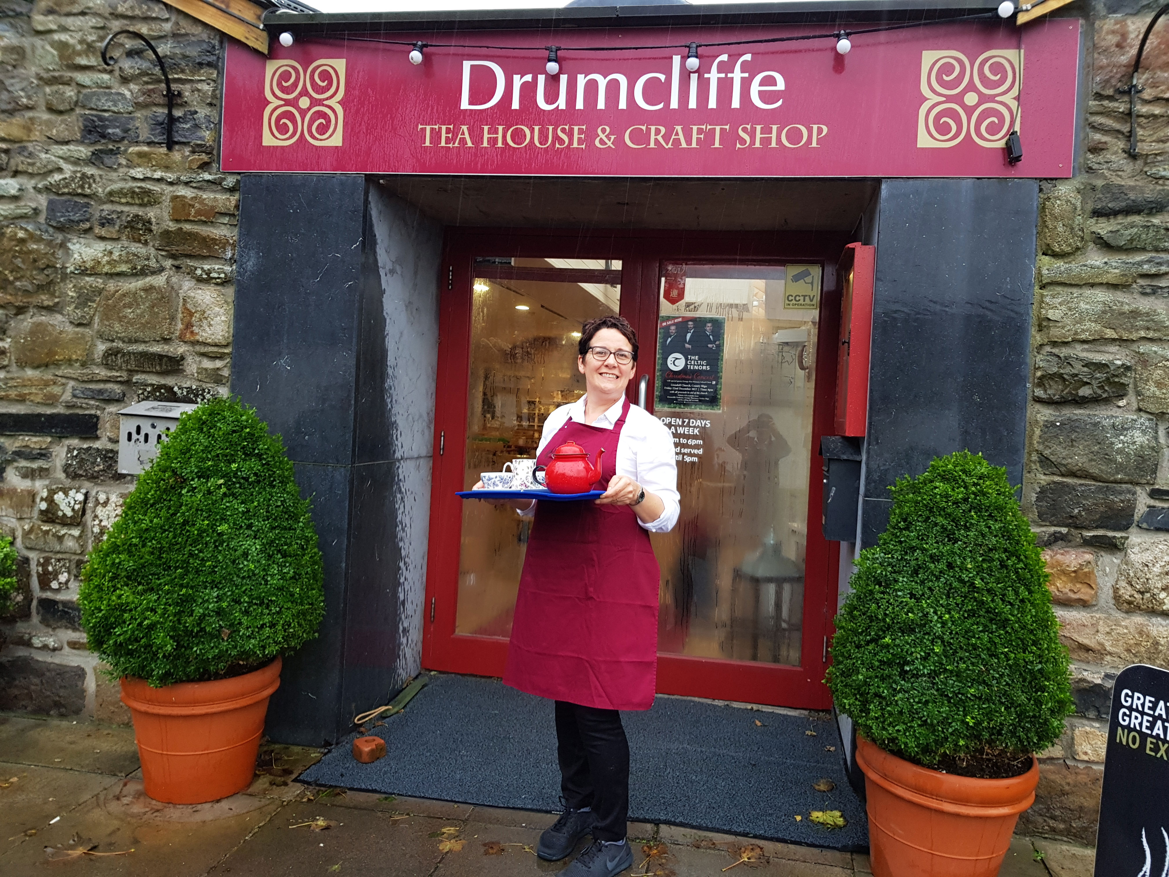 Faces of the Sligo Food: Trail Jill Barber, Drumcliffe Tea House