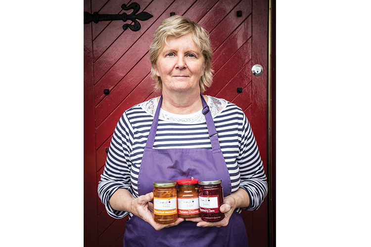Faces of the Sligo Food Trail: Bernie Clarke, Bramble Lodge Foods