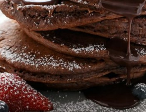 The perfect pancake for chocoholics from the Glasshouse Hotel